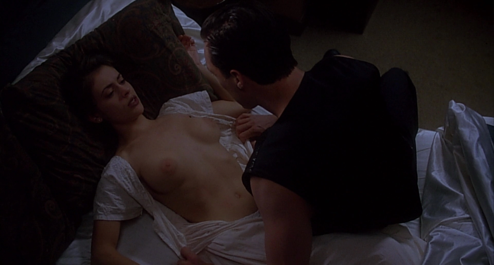 Alyssa milano sex scene in embrace of the vampire