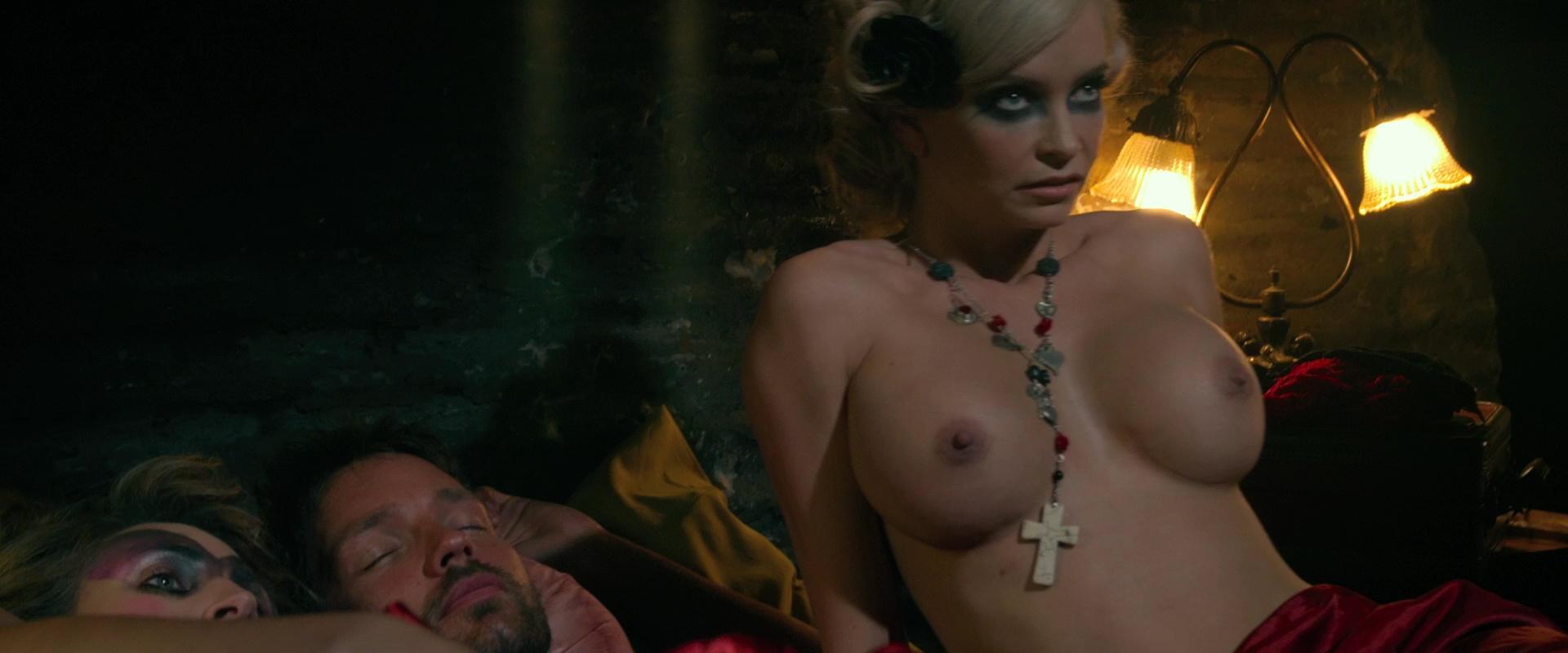 Christan nude boobs