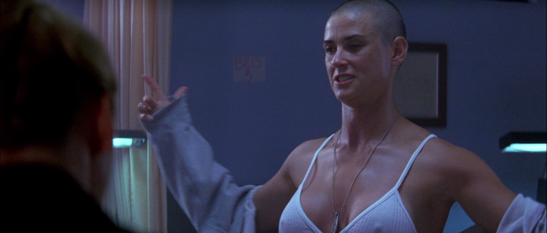 Frontal full naked demi moore #7