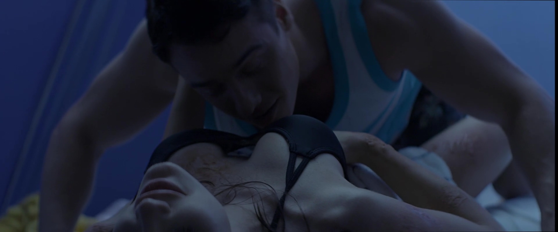 Busty cabin fever sex scene clip