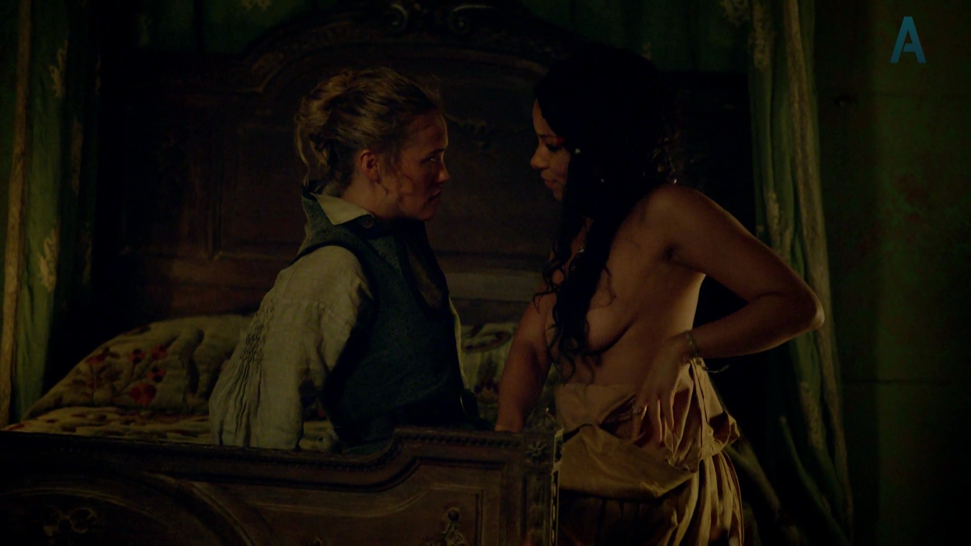 Jessica Parker Kennedy, Hannah New, etc – Black Sails s01e01 (2014) HD 1080p
