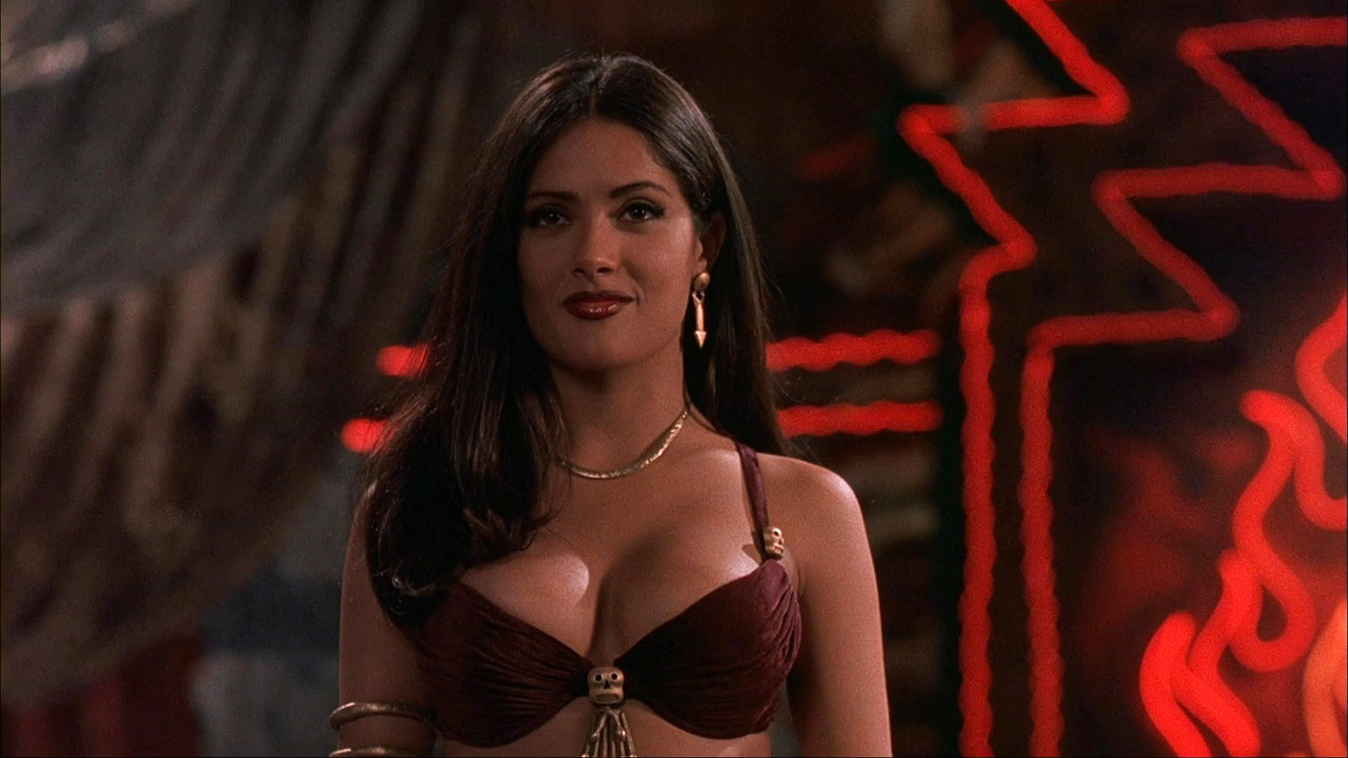 Salma Hayek – From Dusk Till Dawn (1996) HD 1080p