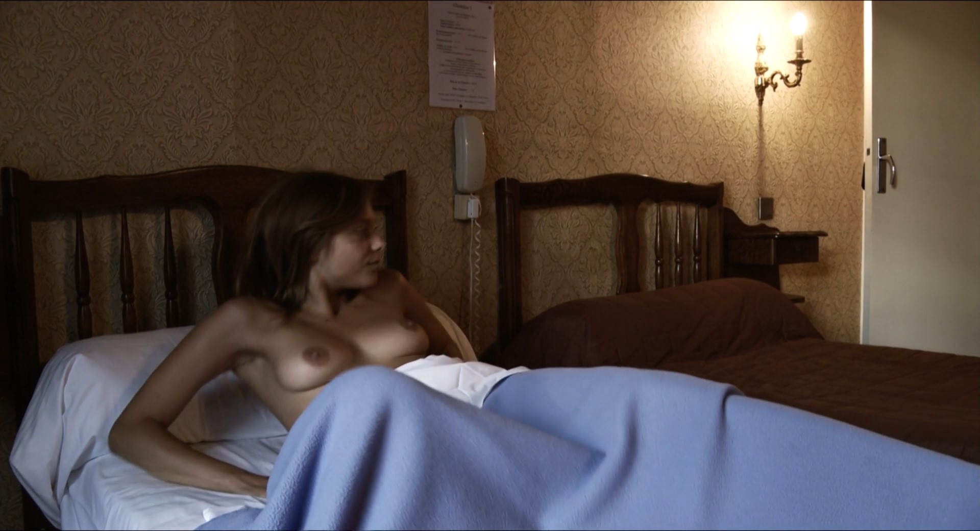 Lizzie brochere american translation in nude with you