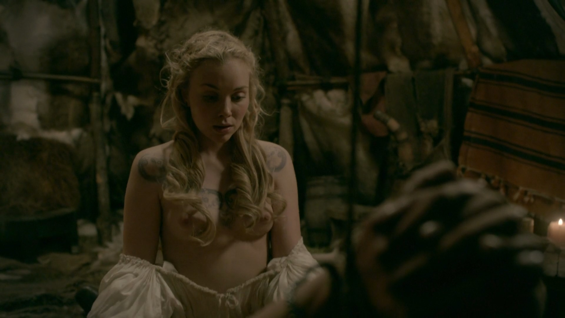 Tv scene nude Vikings show