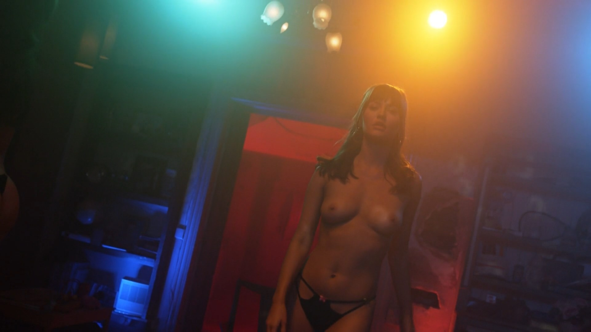 Nude asains strip