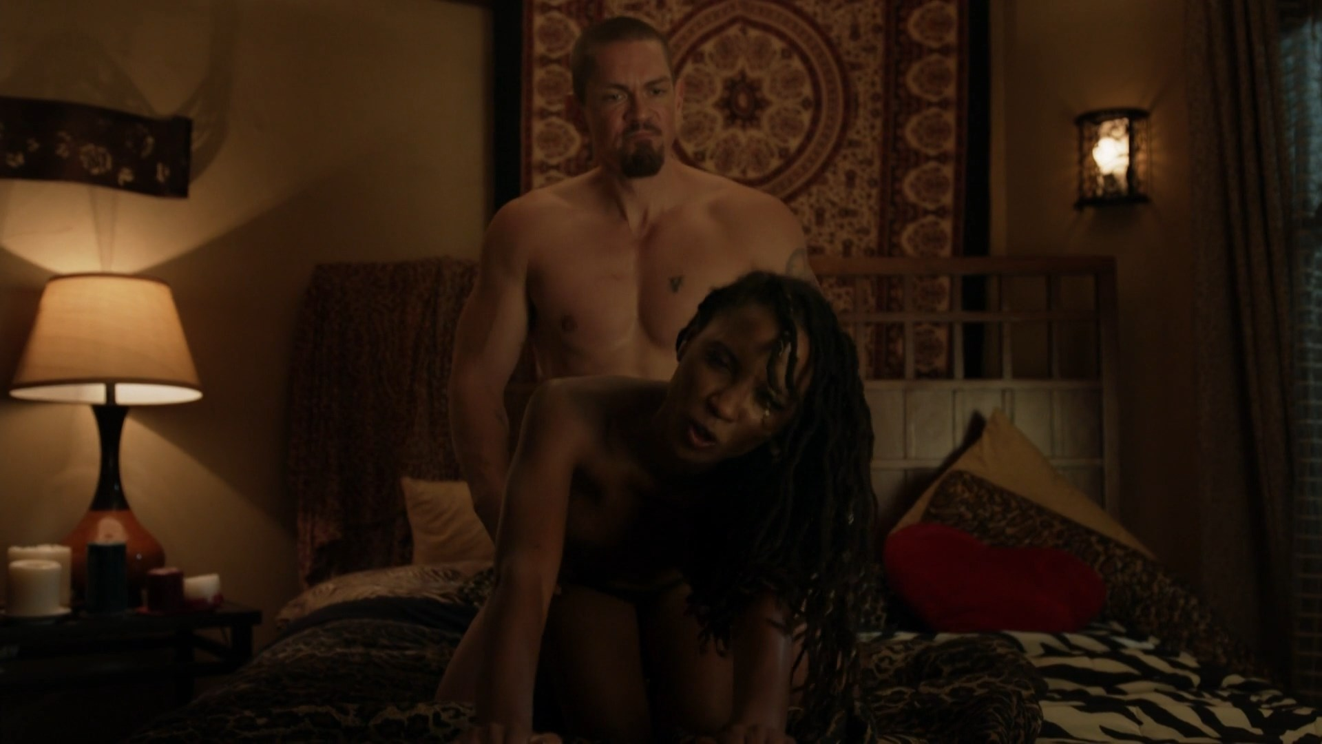 images Shanola hampton sex on a pool table in shameless series