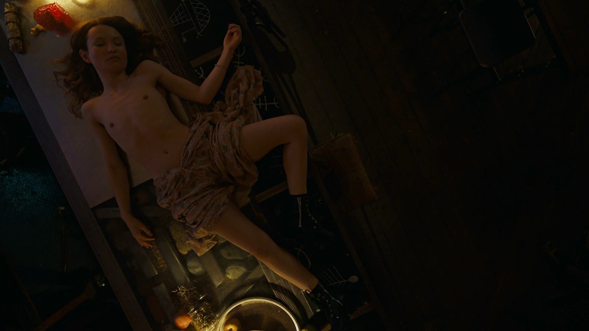 Emily browning nude american gods
