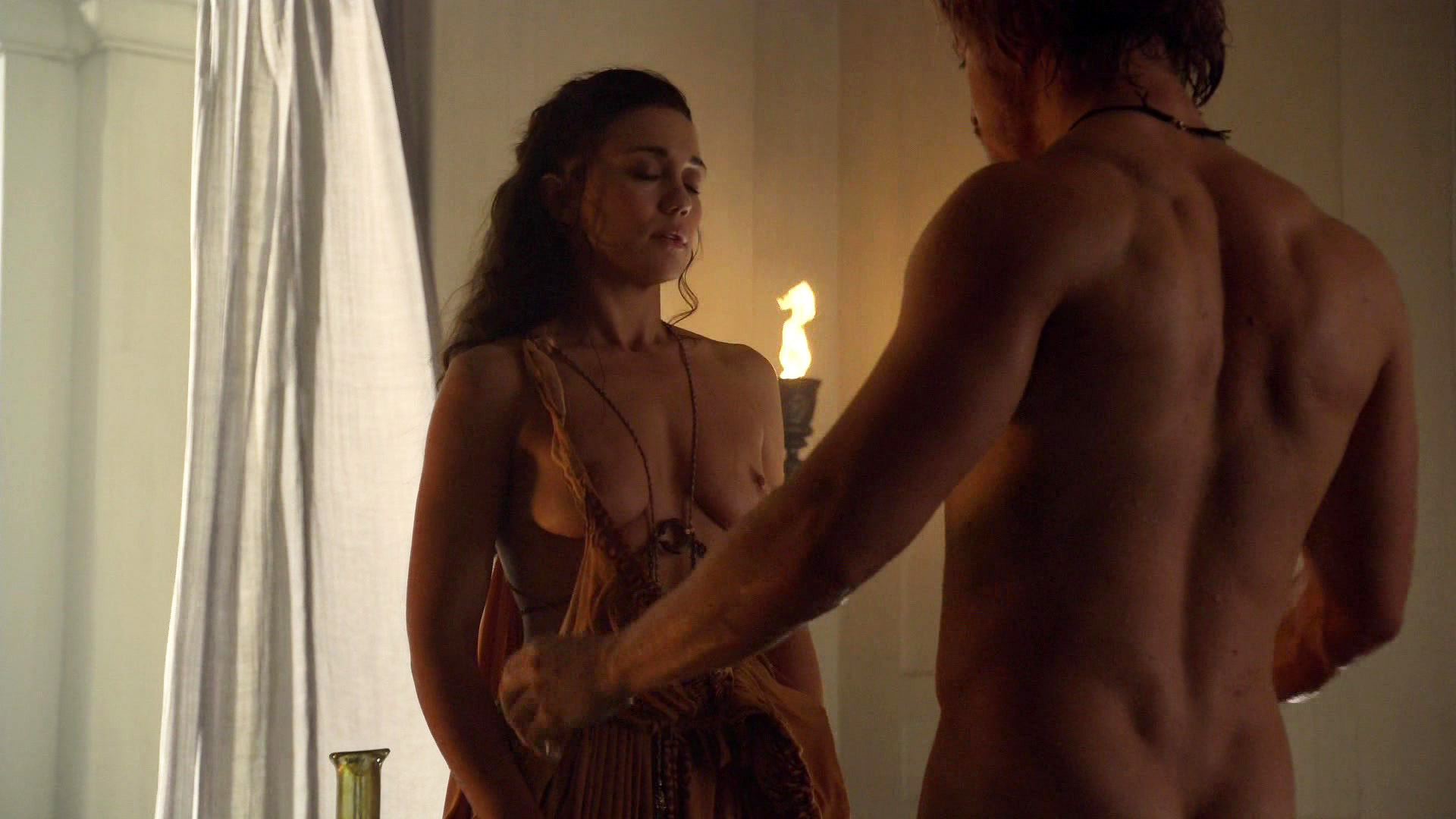 Spartacus naked