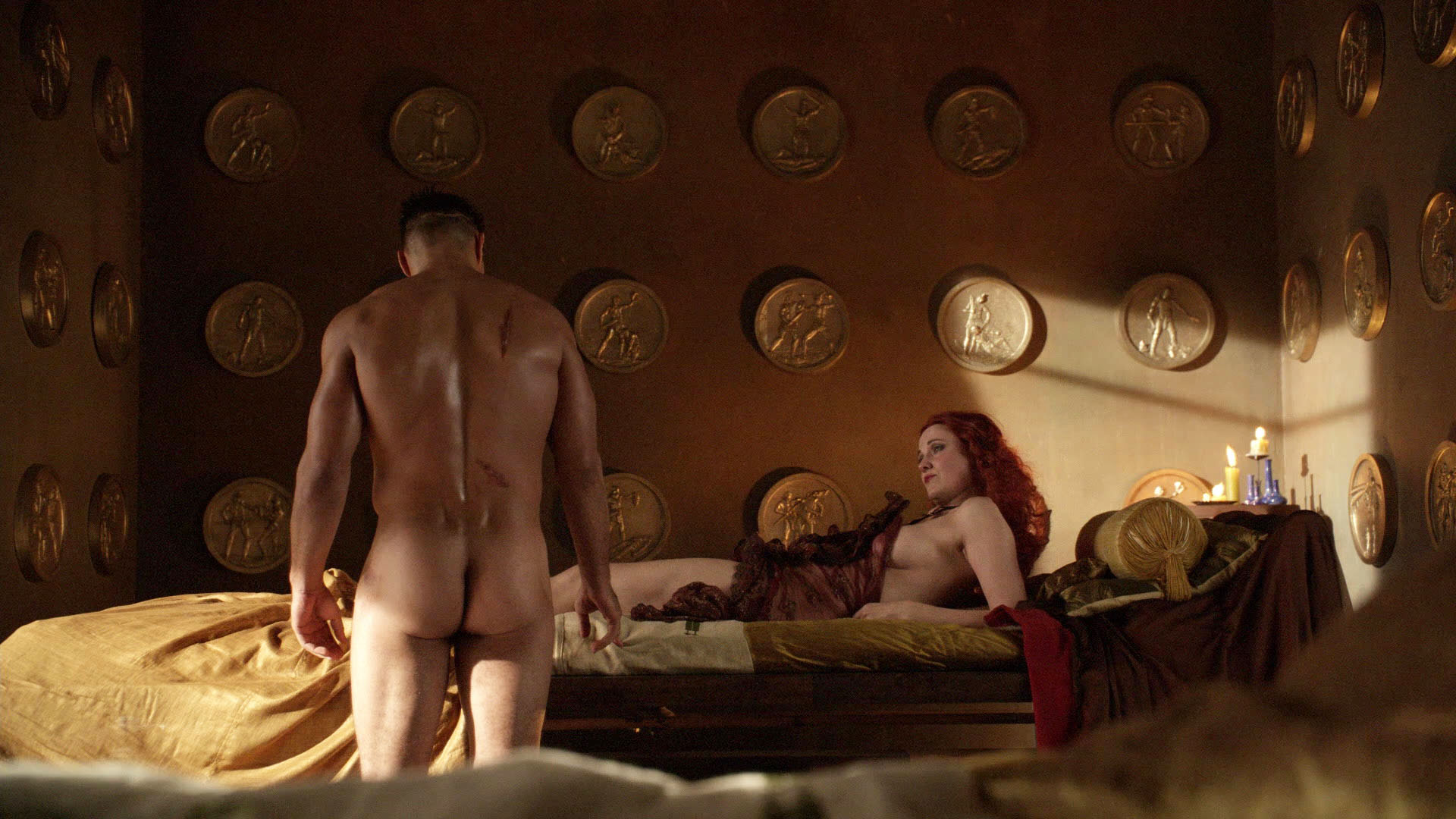 Thank for sex scenes spartacus have